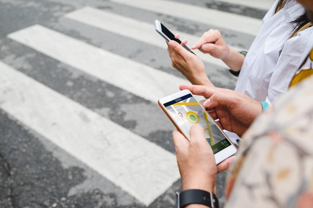 Pasang Peta Online di Smartphone